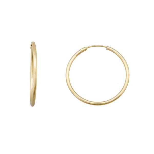 Aros de Oro 1ª Ley en forma de tubo