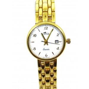 Reloj Oro Lotus Mujer