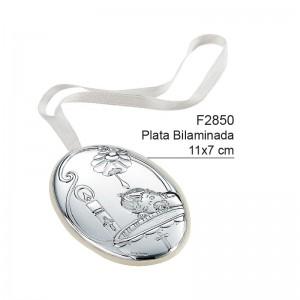 Medalla de Cuna, Plata de Bilaminada - Modelo Bautismo